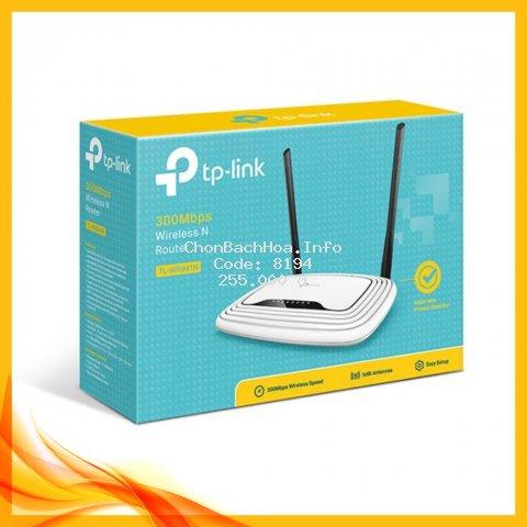 Bộ phát Wifi TP-Link 841N Chính hãng Bảo hành 2 năm
