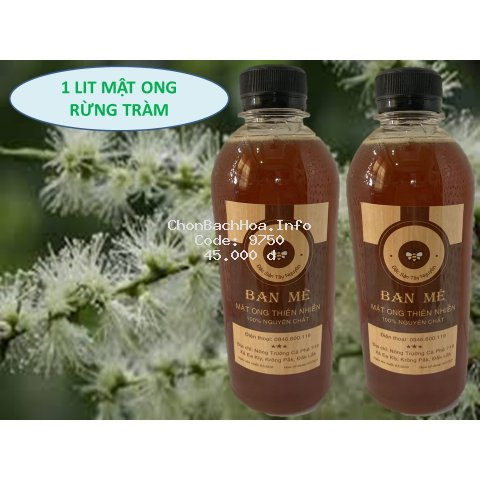 500ml Mật Ong tự nhiên- đắp mặt nạ đẹp da - thực phẩm tốt cho sức khỏe