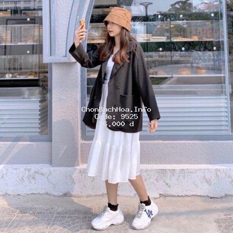 Áo Blazer nữ phong cách hàn quốc- Áo khoác vest ulzzang 2020
