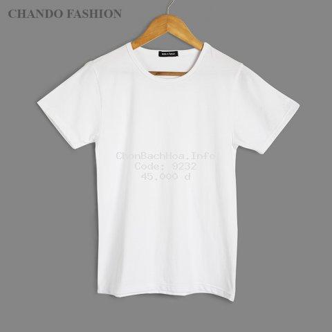 Áo thun nam cộc tay Chando chất vải cotton thấm hút mồ hôi tốt CD01