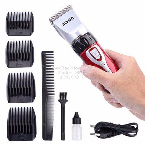 [BÁN CHẠY] Tông đơ cắt tóc chính hãng Jichen - tông đơ hớt tóc