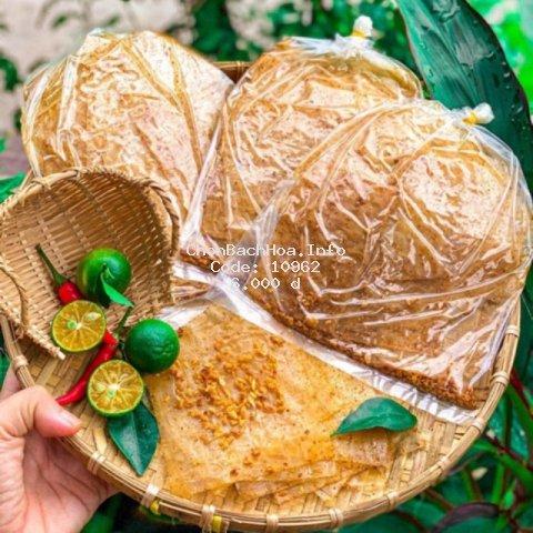 Bánh tráng muối mịn hành phi/ tỏi phi xì ke - BÁNH TRÁNG NGHỆ SĨ