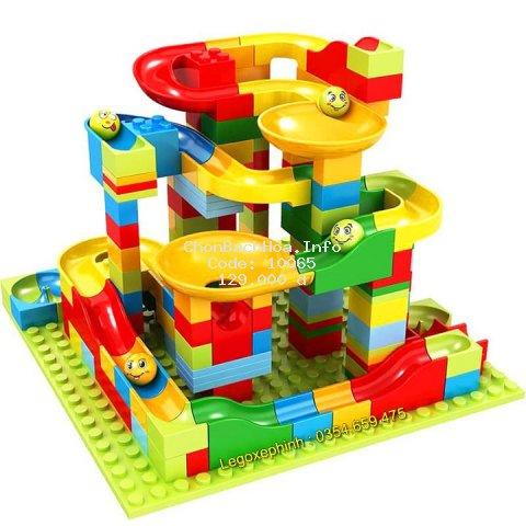 BỘ XẾP HÌNH LEGO CẦU TRƯỢT THẢ BI