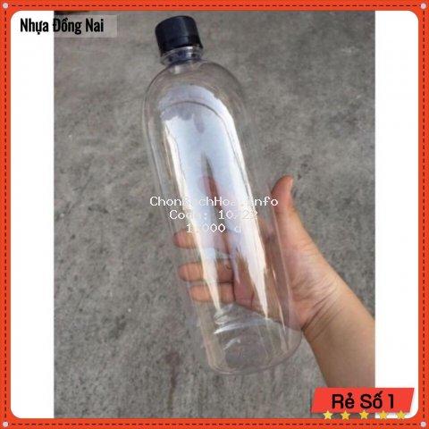 Chai Nhựa 1000ml - Chai Nhựa 1 lit - Nhựa Đồng Nai
