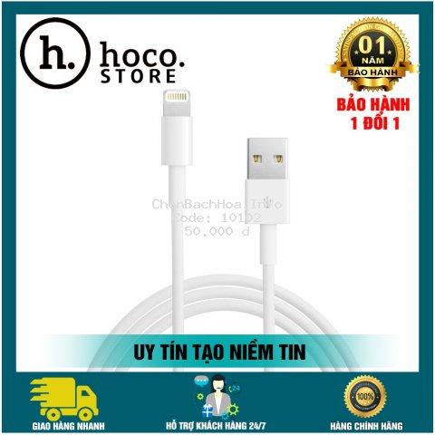 [CHÍNH HÃNG] Cáp Sạc Nhanh Hoco 2.4A Cho Iphone/Android
