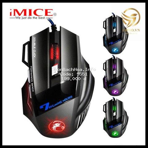 Chuột Gaming Có Dây Imice X7 Chuột Máy Vi Tính Laptop Đèn Led – OHNO Việt Nam