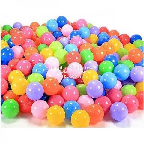 Combo 10 quả bóng nhựa mềm thả chậu tắm