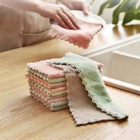Combo 5 khăn lau đa năng