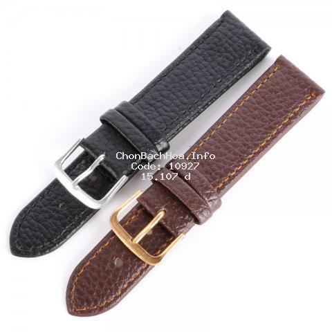 Dây da thay thế thiết kế sang trọng cho đồng hồ đeo tay