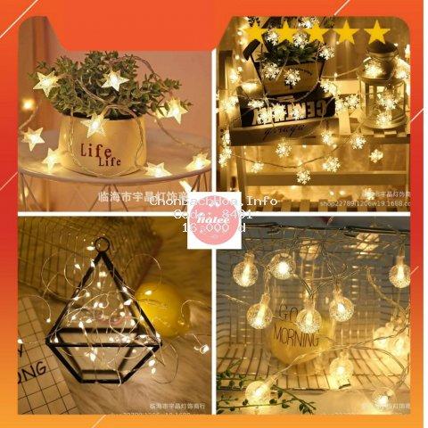 Dây đèn led ❤️ Freeship ❤️ Dây đèn led trang trí phòng ngủ
