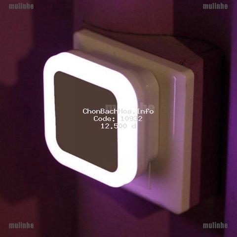 Đèn ngủ vuông cảm ứng tự động tắt mở chất lượng cao