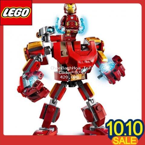 Đồ chơi LEGO Bộ lắp ráp Chiến Giáp Người Sắt Marvel 76140 (148 Chi Tiết)