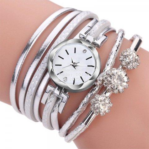 Đồng hồ đeo tay thời trang có đính đá