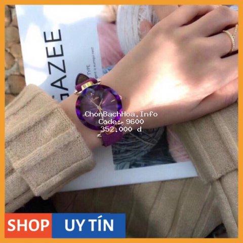 [Hàng Cao Cấp] Đồng hồ nữ Scottie hàng chính hãng 32mm dây da lộn sang chảnh