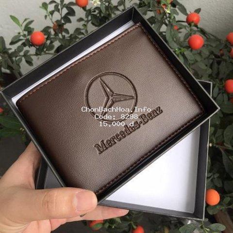 [HÀNG HIỆU] Bóp ví Nam - Ví nam Mercedes-Benz xịn thời trang cao cấp phong cách trẻ sành điệu gu nam tính CK-79365