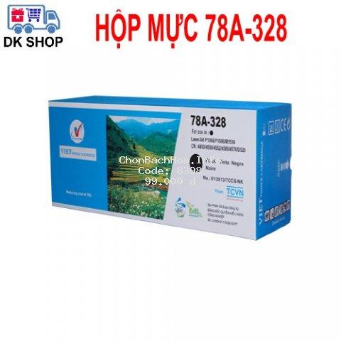 Hộp Mực In 78A-328 (Viet Toner) - Dùng Cho Máy In Hp: P1566, P1606DN, M1536DNF, Canon: 4550 /4580DN/ 4570DN/ 4550D...