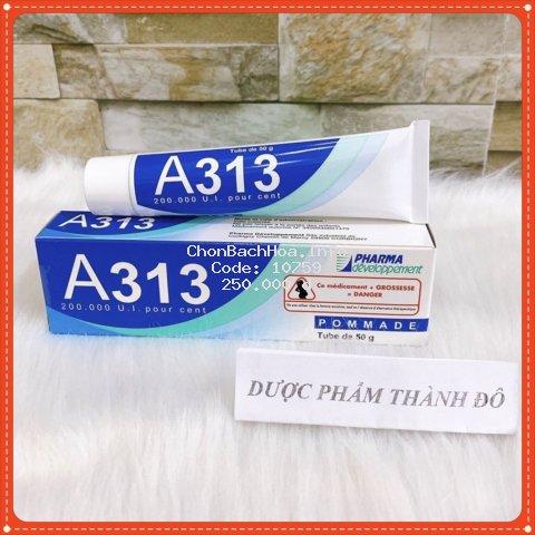Kem Retinol A313 giảm mụn, xóa mờ vết thâm, trị nhăn và trẻ hóa da hiệu quả