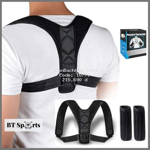 [Mã COSHOT28 hoàn 8% xu đơn 250K] Đai chống gù lưng Posture Corrector (PC) [Tặng kèm 2 tấm trợ lực]