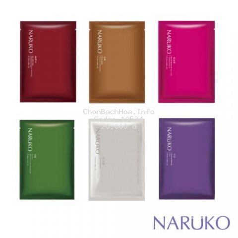 [Mã COSHOT28 hoàn 8% xu đơn 250K] Mặt nạ giấy NARUKO nội địa Đài Loan 1 miếng lẻ