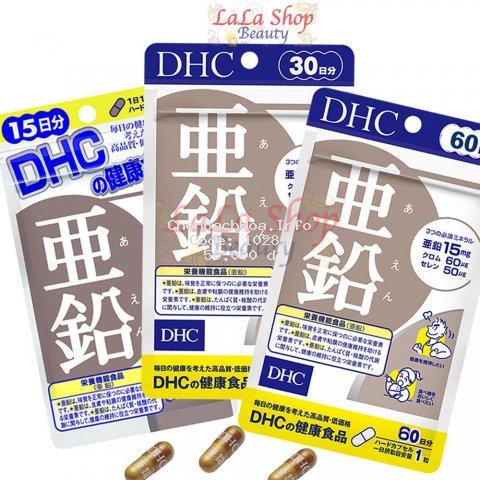 [Mã COSHOT28 hoàn 8% xu đơn 250K] Viên uống Bổ sung Kẽm DHC Zinc Nhật Bản