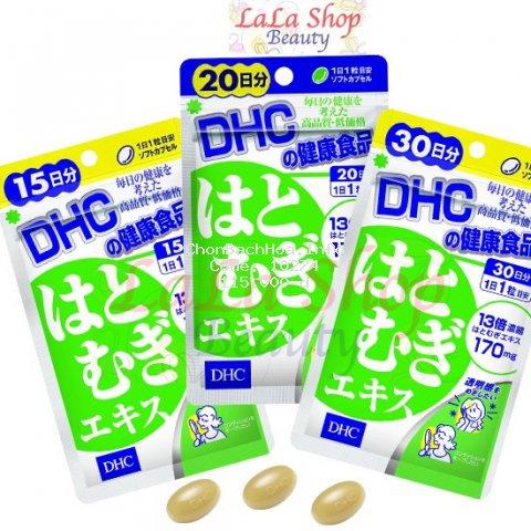 [Mã COSHOT28 hoàn 8% xu đơn 250K] Viên uống Trắng da DHC Nhật Bản Adlay Extract