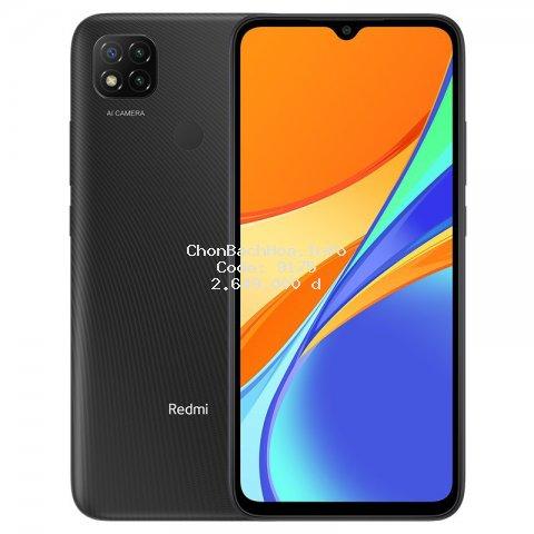 [Mã ELMALL1010 giảm 6% đơn 500k] Điện Thoại Xiaomi Redmi 9C 3GB/64GB - Hàng Chính Hãng