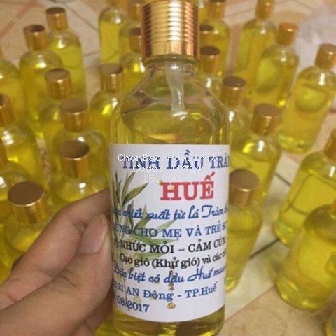 [Mã MKBCLUCKY giảm 8% đơn 400K] Tinh dầu tràm Huế nguyên chất lọ tròn 100 ml / ̀50 ml