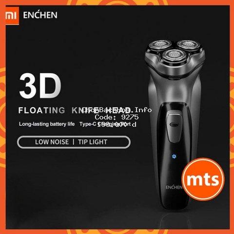 Máy cạo râu Xiaomi ENCHEN BlackStone đầu dao nổi 3D phiên bản sạc pin thông minh