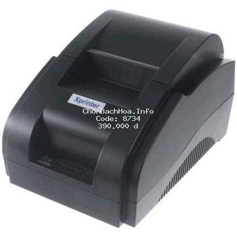 Máy in hóa đơn XPrinter XP-58IIH USB (Khổ 58mm, In nhiệt)