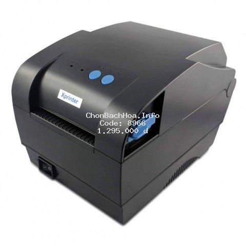 Máy in mã vạch 2 tem Xprinter XP-365B [In mã vạch thời trang 2 tem]