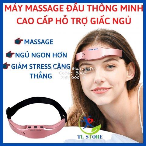 Máy massage đầu thông minh giảm đau đầu, căng thẳng - Hỗ trợ giấc ngủ sâu hơn