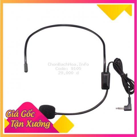 Micro đeo tai Máy Trợ Giảng có dây 3.5