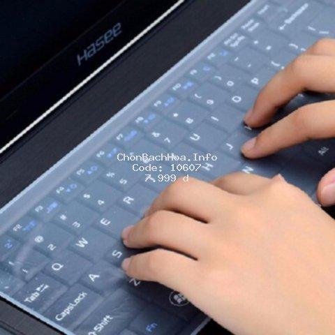 Miếng Silicon Che Phủ Chắn Bụi, Chống Nước Bảo Vệ Bàn Phím Laptop 13-17 Inch