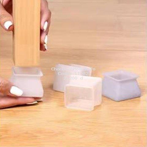 Miếng silicone dày bọc chân bàn ghế chống trượt không gây tiếng ồn