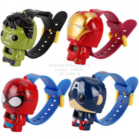 Mô Hình Nhân Vật Siêu Anh Hùng Marvel