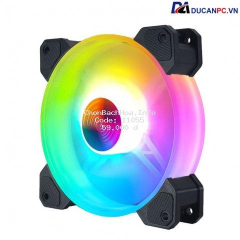 Quạt Tản Nhiệt, Fan Led RGB Coolmoon Y1 - Đồng Bộ Hub Coolmoon