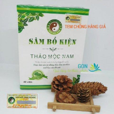Sâm Bổ Kiện Thảo Mộc Nam Organic - Hàng Công ty [TĂNG CÂN AN TOÀN]