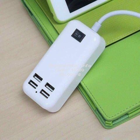 [SIÊU RẺ] Ổ Cắm USB 15W - 4 Cổng USB