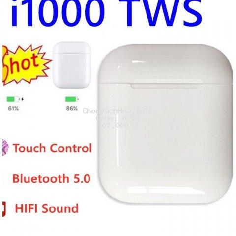 Tai Nghe bluetooth không dây i1000 Tws Kết Nối Bluetooth 5.0