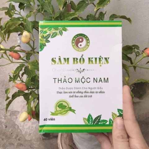 [TĂNG CÂN AN TOÀN] Sâm Bổ Kiện Thảo Mộc Nam Organic - Hàng Công ty
