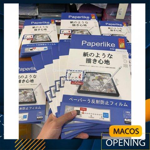 [Thế hệ mới] Dán màn hình iPad Paper-like chống vân tay cho cảm giác vẽ như trên giấy paperlike - Nhập khẩu Japan