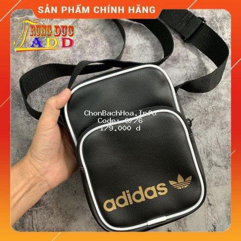 Túi Da Chéo - Full Tag Code - Chuẩn Cambodia - Logo Vàng Siêu Đẹp - Da Mềm Mịn Cao Cấp - Dễ Phối Đồ
