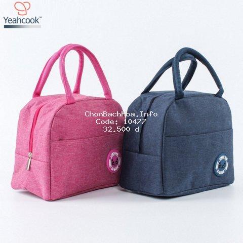 Túi giữ nhiệt đựng hộp cơm cao cấp Yeahcook Lunch Bag