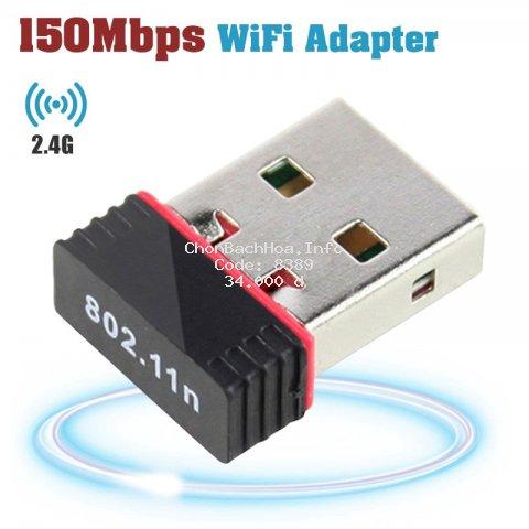 Usb Wifi Mini 802.11n 150mbps chất lượng cao