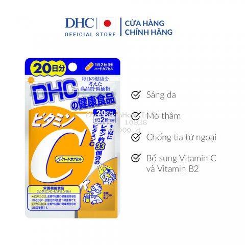 Viên uống DHC Bổ sung Vitamin C Nhật Bản 40v/gói và 120v/gói
