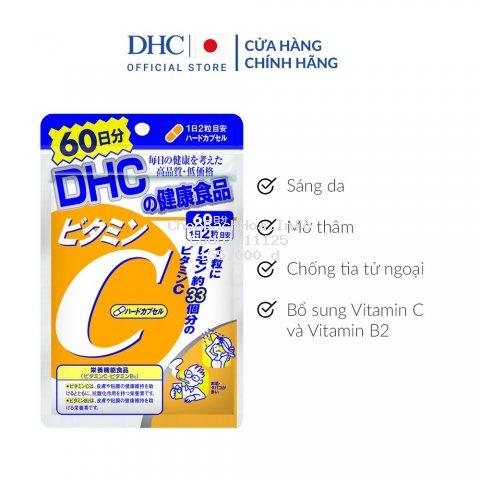 Viên uống DHC bổ sung vitamin C Nhật Bản 60 Ngày (120 Viên)