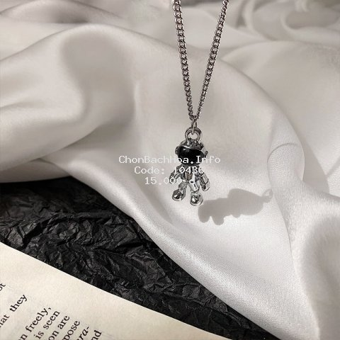 Vòng Cổ Phi Hành Gia Astronaut Necklace New Sweater Chain Unisex Neck Jewelry