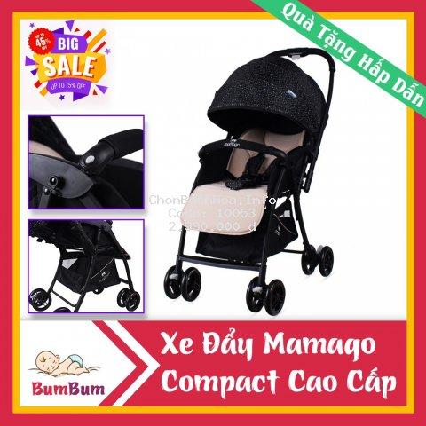 ⚡Xe đẩy cho bé? Mamago Compact 319 Linen Premium