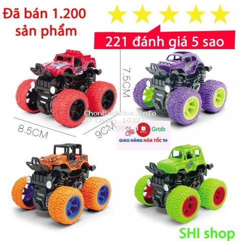 Xe ô tô đồ chơi quán tính chạy đà cho bé nhiều màu sắc,chạy rất xa, bền bì, nhựa ABS an toàn