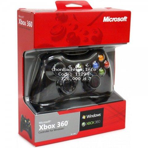 [2020] Tay cầm chơi game xbox 360 PC - tay cầm chơi game có dây chính hãn